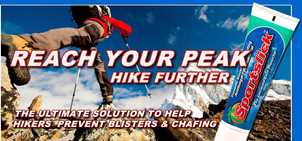 Reach Your Peak, Hike Further with Sportslick