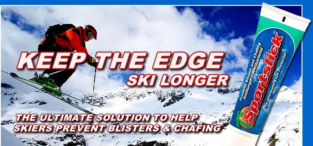 Keep the Edge, Ski Longer with Sportslick
